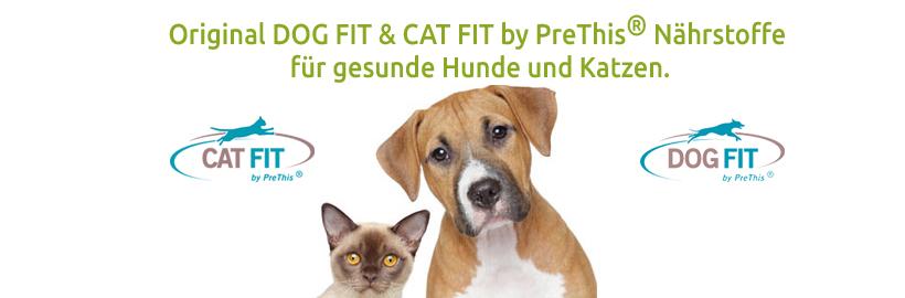 DOG FIT by PreThis Nahrungswergänzungen für Hunde und Katzen