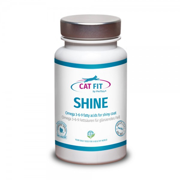 CAT FIT by PreThis® SHINE - Omega 3-6-9