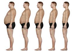 Dicke und dünne Menschen