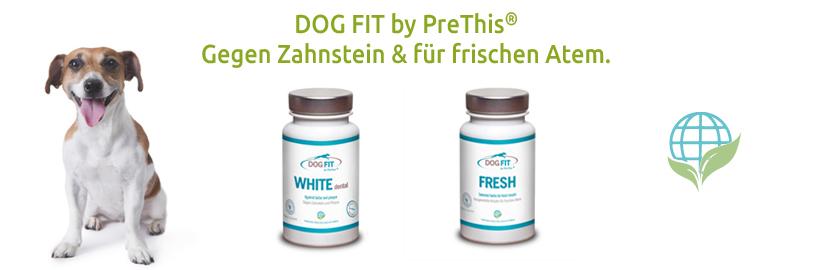 DOG FIT by PreThis für frischen Atem und gesunde Zähne