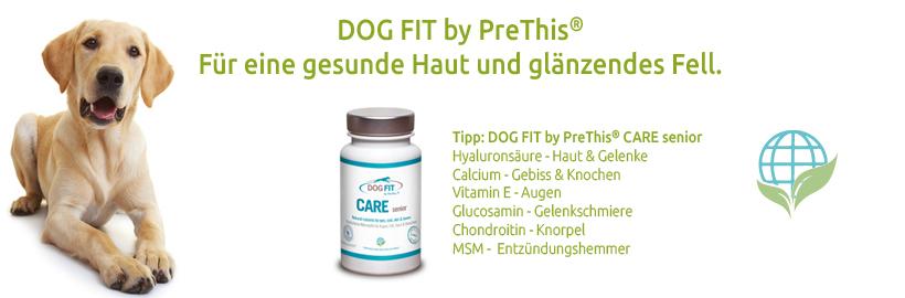 DOG FIT by PreThis für schönes Fell und gesunde Haut