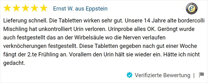 Trusted Shops Bewertung Inkontinenz