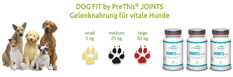 DOG FIT by PreThis JOINTS Gelenknährstoffe